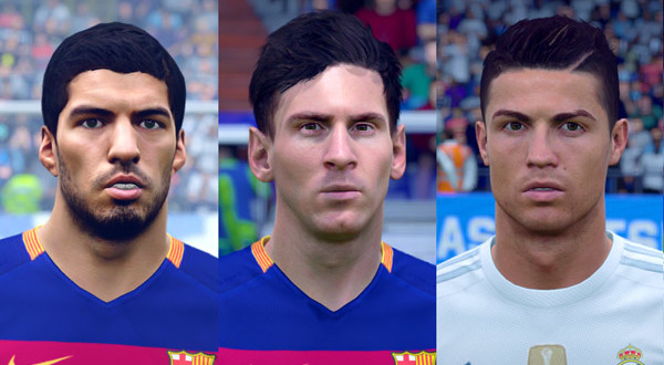 FIFA16] First Face Pack |
