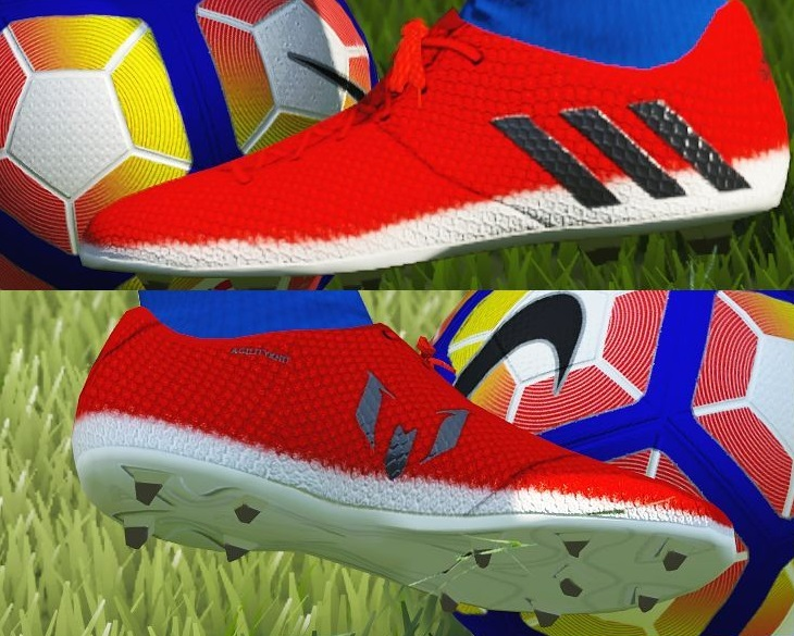 gemelo afijo Pinchazo  Adidas Messi 16.1 Red Limit by Barrysun