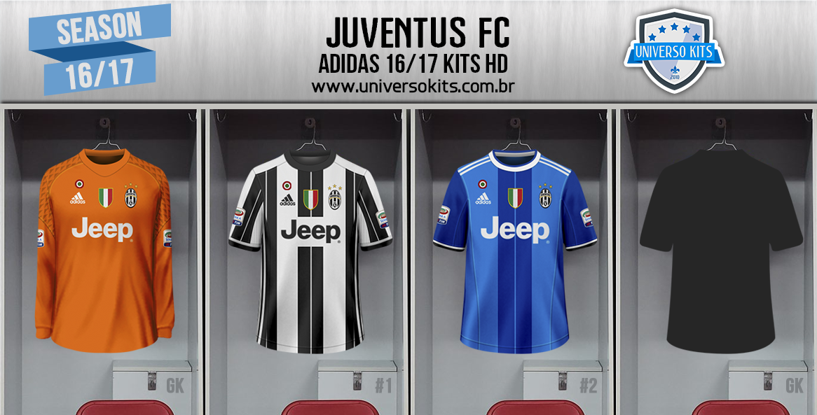 juventus 2016 17 kits by mateus guedes