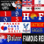 Crystal Palace flags and banners