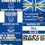 Everton flags and banners