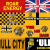 Hull City flags and banners