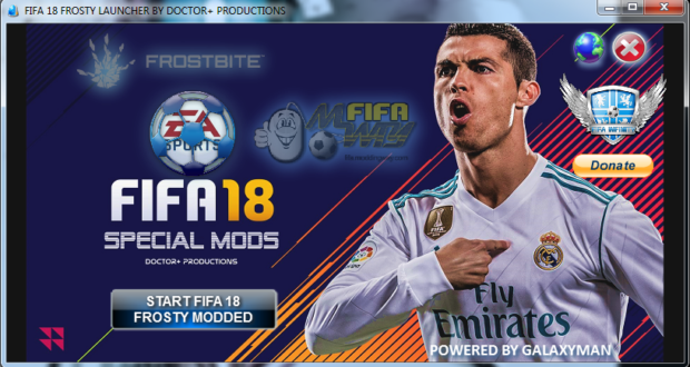 FIFA 18 FROSTY LAUNCHER |